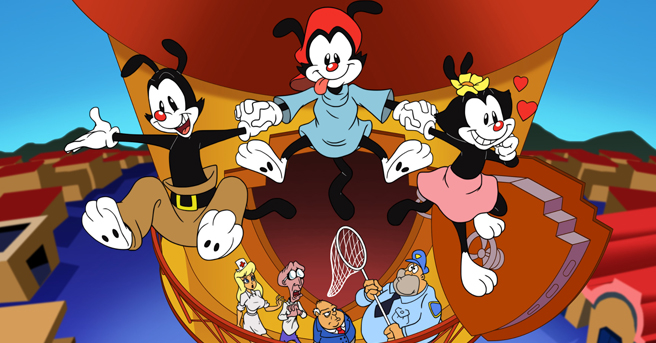 Image result for animaniacs reboot