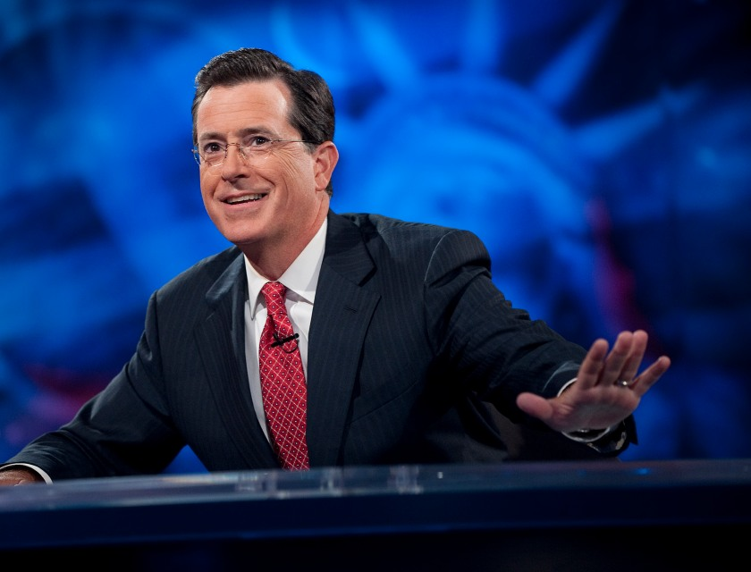 """The Colbert Report"" Salutes The Troops"